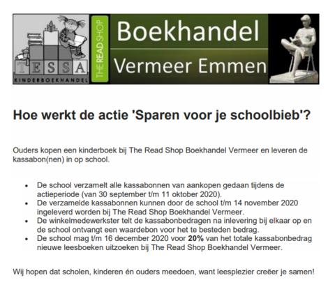 sparen bij Vermeer
